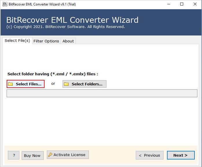 dual option to move eml to pdf