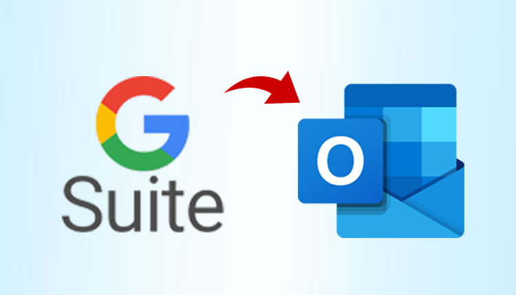 g suite to outlook migration